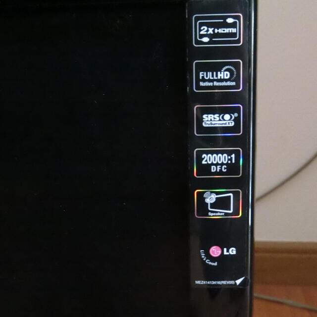 LG Electronics(エルジーエレクトロニクス)のLG PCモニター M237WS-PM ゲーム DVD カメラ スマホ/家電/カメラのPC/タブレット(ディスプレイ)の商品写真