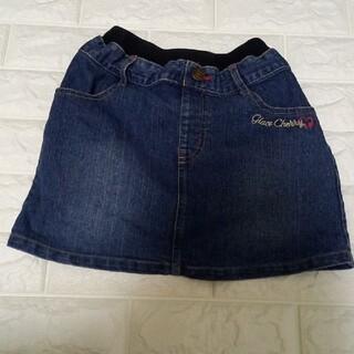 マザウェイズ(motherways)のマザゥエイズ デニムスカート 130(スカート)