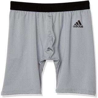 アディダス(adidas)のアディダス adidas スポーツショートタイツ グンゼ グレー メンズL 新品(ボクサーパンツ)