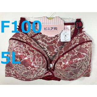 【F100/5L】ブラ・ショーツセット★複数個値引き★Fカップ 042804 1(ブラ&ショーツセット)