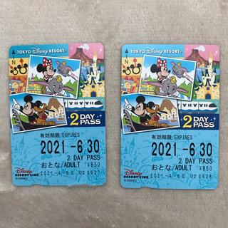 ディズニー(Disney)のディズニーリゾートラインフリーきっぷ(その他)