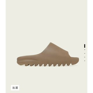 アディダス(adidas)のADIDAS YEEZY SLIDE CORE 25.5cm(サンダル)