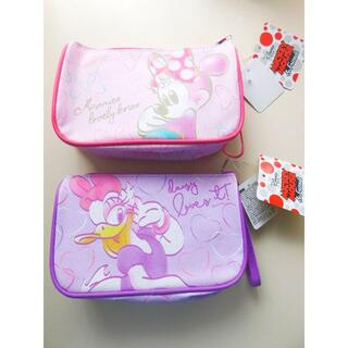 Disney - 新品♥ミニーマウス デイジーダック コスメポーチ 筆箱 ディズニー ペンケース