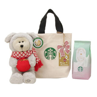 Starbucks Coffee - ☆★スタバ★☆ ホリデー ベアリスタドッグ クリスマスブロンド 限定 ギフト
