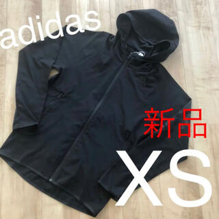 adidas - ☆新品☆アディダス メンズ薄手アウター ブラック XSサイズ