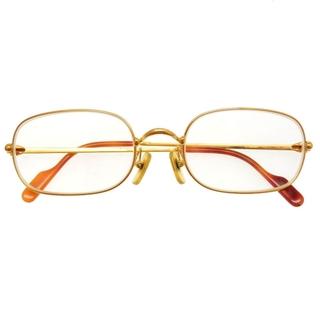 カルティエ(Cartier)のカルティエ  メガネ アイウェア   メタル  ゴールド   サン(サングラス/メガネ)