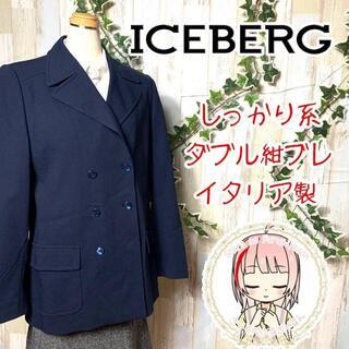 アイスバーグ(ICEBERG)のICEBERG アイスバーグ90s  ダブル ブレステッド ブレザーL(ピーコート)