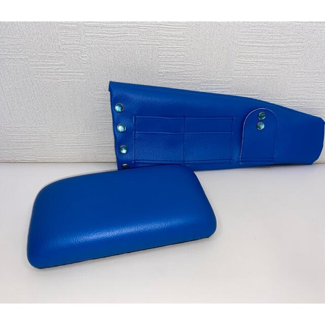 ダイハツ(ダイハツ)のコペンLA400Kサンバイザーカバー左右⭐︎青⭐︎サングラス&チケットホルダー 自動車/バイクの自動車(車内アクセサリ)の商品写真