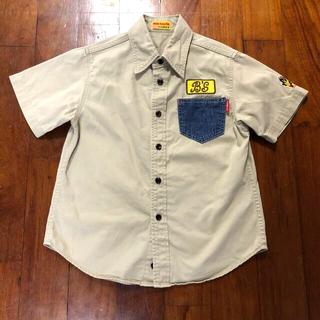 ダブルビー(DOUBLE.B)のミキハウス ダブルビー シャツ 130(ブラウス)