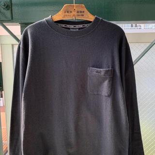 アートヴィンテージ(ART VINTAGE)の2000円セール⭕️FIRSTDOWN 刺繍ロゴ ワンポイント ロンTカットソー(Tシャツ/カットソー(七分/長袖))