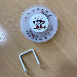 ニシマツヤ(西松屋)の湿度温度計 ミッキー 西松屋 破損あり(キャラクターグッズ)