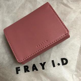 フレイアイディー(FRAY I.D)のタグ付き新品FRAY I.D❁ミニウォレット(財布)