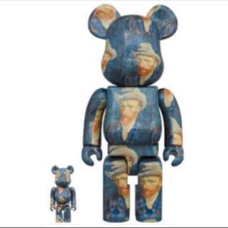 BE@RBRICK Van Gogh Museum Self-Portrait (キャラクターグッズ)
