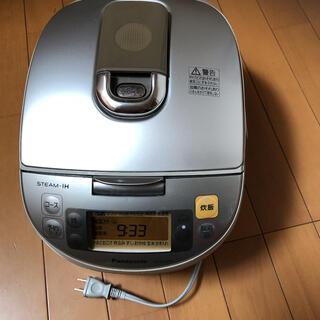 パナソニック(Panasonic)のパナソニックSR-SY103JスチームIHジャー炊飯器(炊飯器)