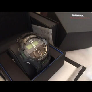 ジーショック(G-SHOCK)の新品未使用 G-SHOCK 腕時計 GRAVITYMASTER(腕時計(アナログ))