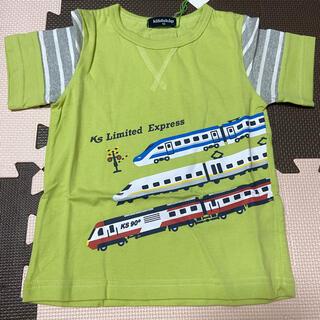 kladskap - 【新品】クレードスコープ 袖切り替え電車Tシャツ 100