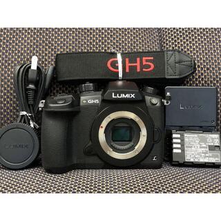 Panasonic - 1015MR 僅か2250ショット Lumix GH5 ボディ