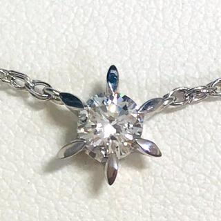 ☆Pt850/Pt900 ダイヤプチネックレス☆(ネックレス)