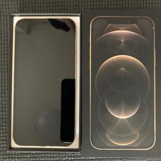 アイフォーン(iPhone)のiPhone 12 pro 128gb sim free ゴールド 中古美品(スマートフォン本体)