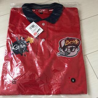 広島東洋カープ - 広島カープ  ラッパー坊やポロシャツ 赤