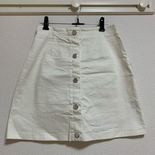 エモダ(EMODA)のEMODA 白スカート(ミニスカート)