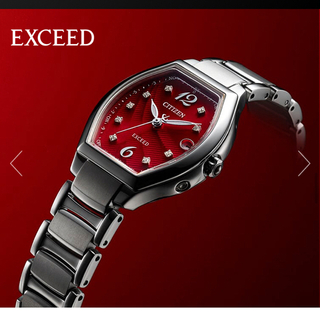 新品未使用 限定 CITIZEN ドレスウォッチ エクシード(腕時計)