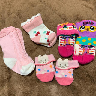 グラグラ(GrandGround)の詰め放題対象 新生児~ 靴下 セット まとめ売り(靴下/タイツ)