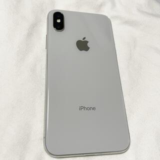 アイフォーン(iPhone)のiPhoneX 64GB シルバー SIMロック解除済み(スマートフォン本体)