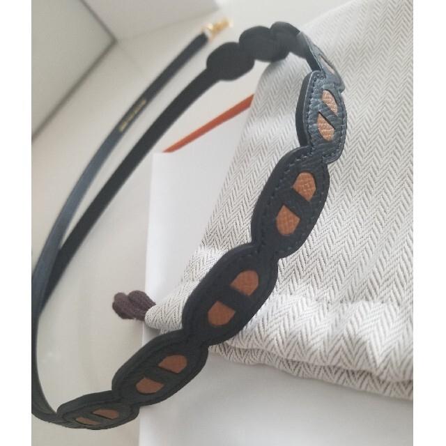 Hermes(エルメス)の希少✨シェーヌダンクル バンドリエール エルメス ハンドメイドのファッション小物(バッグチャーム)の商品写真