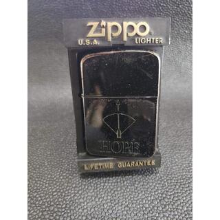 ジッポー(ZIPPO)のZIPPO ジッポー HOPE BLACK レプリカ4バレル(タバコグッズ)