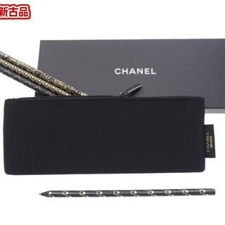シャネル(CHANEL)の【新品】シャネル ノベルティ 鉛筆 えんぴつ 4本 ペンケース セット(ペン/マーカー)