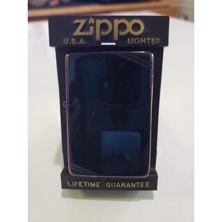 ジッポー(ZIPPO)のZIPPO ジッポーBLACK ライター レプリカPAT.2032695(タバコグッズ)