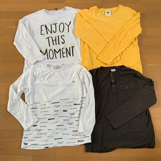 ザラ(ZARA)のZARA BOYS 150 長袖Tシャツ 4枚セット(Tシャツ/カットソー)