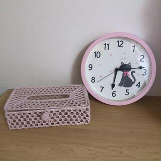 ニトリ(ニトリ)のニトリ ティッシュカバー 壁掛け時計 2点(掛時計/柱時計)