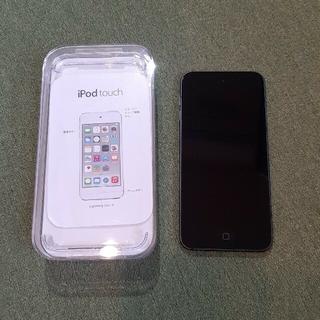 アイポッドタッチ(iPod touch)のiPod touch 第6世代 32GB 黒 ブラック スペースグレー(スマートフォン本体)