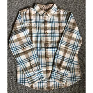 エーキャンビー(A CAN B)のエーキャンビー 長袖 チェックシャツ 120〜130(ブラウス)