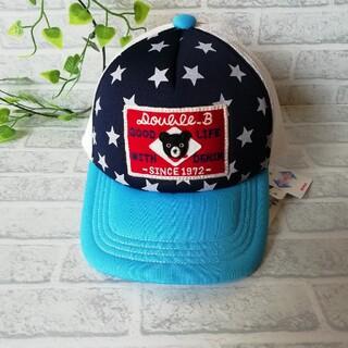 ダブルビー(DOUBLE.B)のミキハウス ダブルB帽子 キャップMサイズ 新品未使用(帽子)