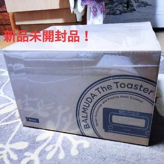 バルミューダ(BALMUDA)の新品未開封 バルミューダ トースター 黒  BALMUDA the toaste(調理機器)