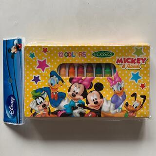 ディズニー(Disney)の12色プラクレヨン ミッキー&フレンズ(クレヨン/パステル)