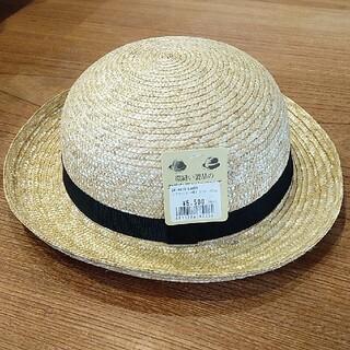 田中帽子店 麦わら帽子 キッズ(帽子)