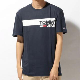 トミーヒルフィガー(TOMMY HILFIGER)のトミーヒルフィガー) ボックスロゴ Tシャツ ロゴ Tee S(Tシャツ/カットソー(半袖/袖なし))