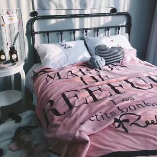 Maison de Reefur - メゾンドリーファー 貴重 毛布 布団 ブランケット シングル サイズ 新品