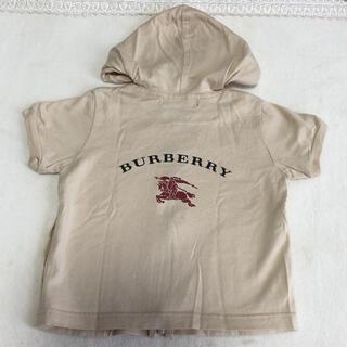 バーバリー(BURBERRY)の❁⃘*.゚BURBERRY バーバリー 半袖 パーカー 80(その他)