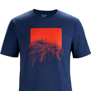 アークテリクス(ARC'TERYX)のARC''TERYX アークテリクス メンズ バックリットTシャツ(Tシャツ/カットソー(半袖/袖なし))