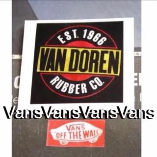 ヴァンズ(VANS)のVANSバンズUS限定80'SスケートVANDORENステッカーラスト1(スケートボード)