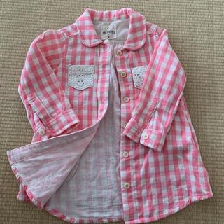 ブランシェス(Branshes)のブランシェス サイズ80 トップス 羽織 シャツ(シャツ/カットソー)