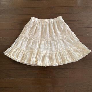 ドーリーガールバイアナスイ(DOLLY GIRL BY ANNA SUI)のドーリーガールバイアナスイフレア膝丈スカート(ミニスカート)