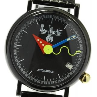 アランシルベスタイン(Alain Silberstein)のアラン・シルベスタイン アーキテック デイト  自動巻き メンズ 【中古】(腕時計(アナログ))