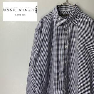 マッキントッシュ(MACKINTOSH)の【古着 美品 マッキントッシュロンドン ビジネスにもおすすめ ワンポイントロゴ】(シャツ)