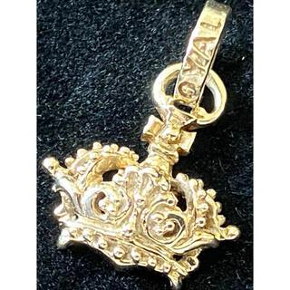 ロイヤルオーダー(ROYALORDER)のROYAL ORDER 9金(K9YG 9KYG) 王冠 ペンダントトップ(ネックレス)
